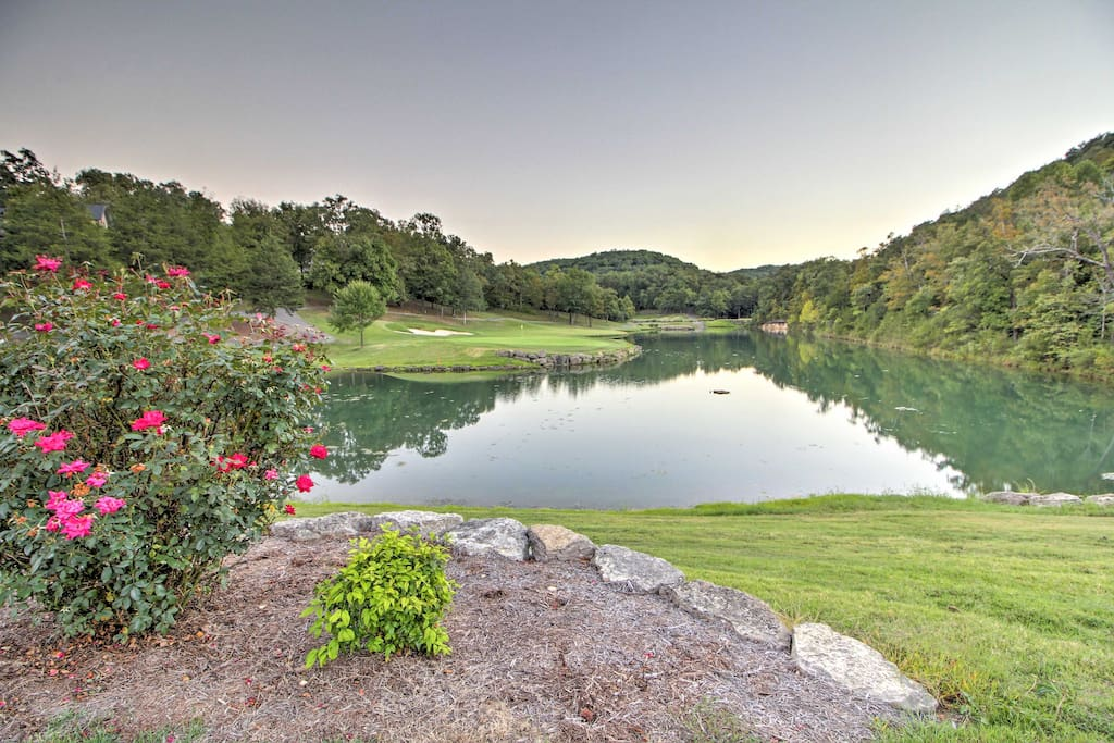 Enjoy access to the LedgeStone championship golf course plus other amenities.