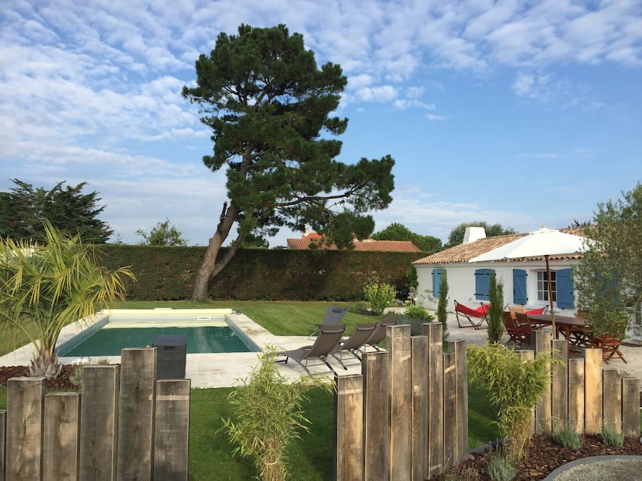 Villa 6 8 pers piscine proche for t et plage villas for Piscine meudon la foret
