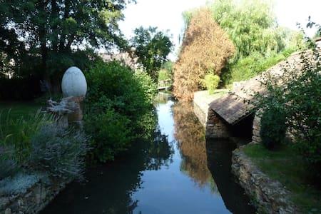 Loft, Gardens & River (Paris=35km) - Saint-Yon