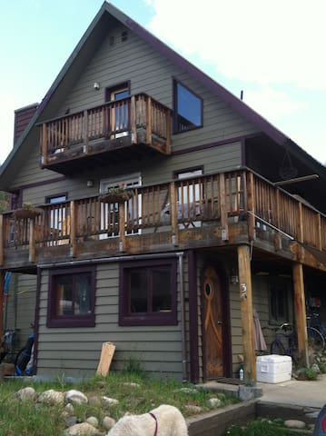 Downtown Butcherknife Creek Retreat - Steamboat Springs - Casa