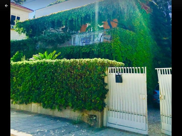 Private villa on the Mondello's beach