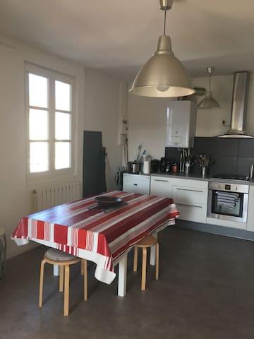 Chambre à louer au mois, biarritz,park