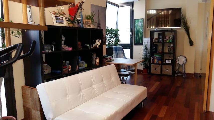 Sunny Studio & 30mt Terrace-Estudio y terraza 30mt - Madrid - Apartment