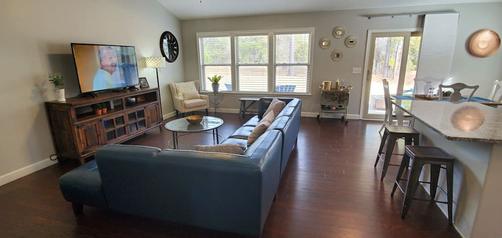 Plenty of room to enjoy your favorite shows, a movie or play a game.