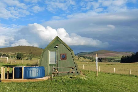 Glamping in the Cairngorms National Park