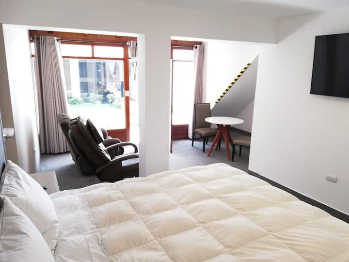 Habitación 101 Hotel Miraflores.