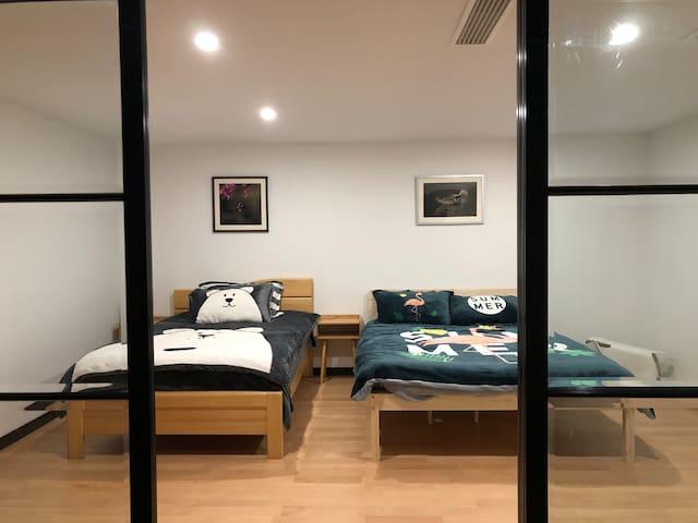 次卧4 -1.5米床+1.2米床