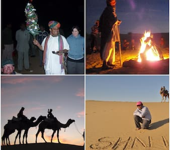 Desert Night stay with Camel ride in desert