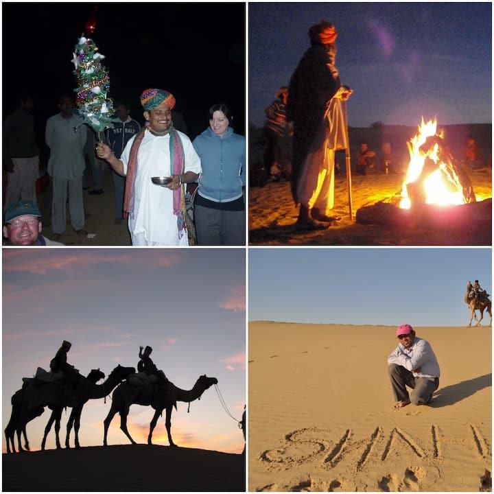 Desert Night stay with Camel ride in desert