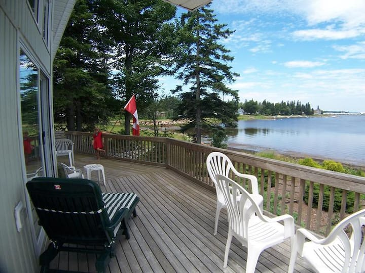 Favorite Waterfront Home Overlooking Shediac