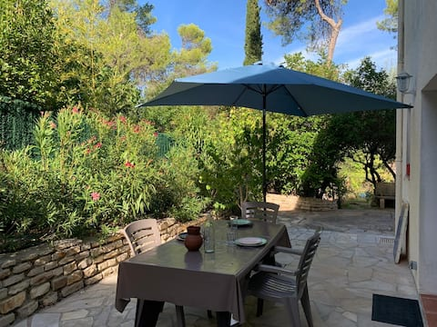 Ô Quiet 47m2 ⭐⭐⭐ T2 and its shaded terrace