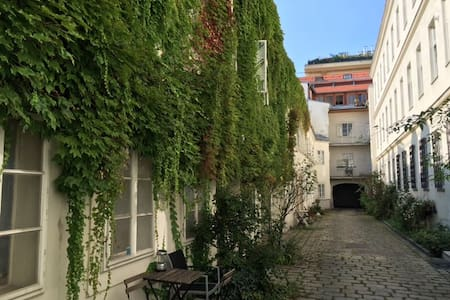 Newly adapted apartment in historical building - Wien