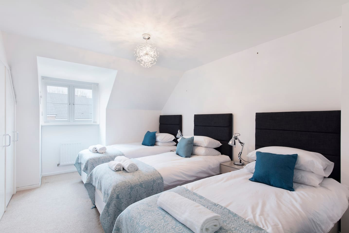 Comfortable bedroom with ensuite