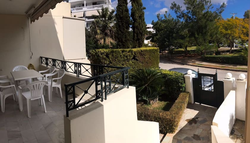 House with private garden in the heart of Glyfada