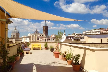 penthouse san martino ai monti - Roma - Apartment