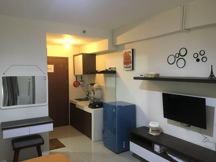Apartemen Bandara City, Type Studio Luas 33 LT. 3