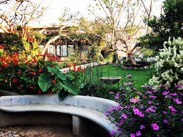 Village Life: Lofts, Rooms, Gardens, Yoga