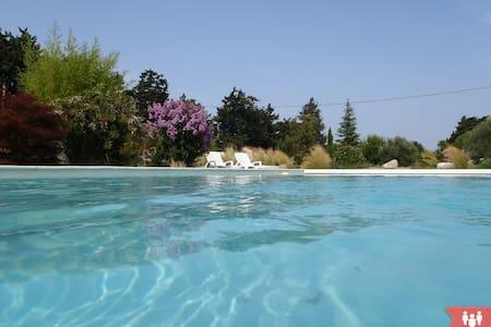 Gîte neuf avec spa, piscine, 4 pers - Casa