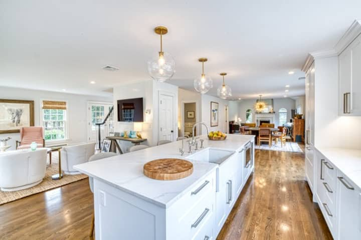 Beautiful private home in North Haven Sag Harbor.