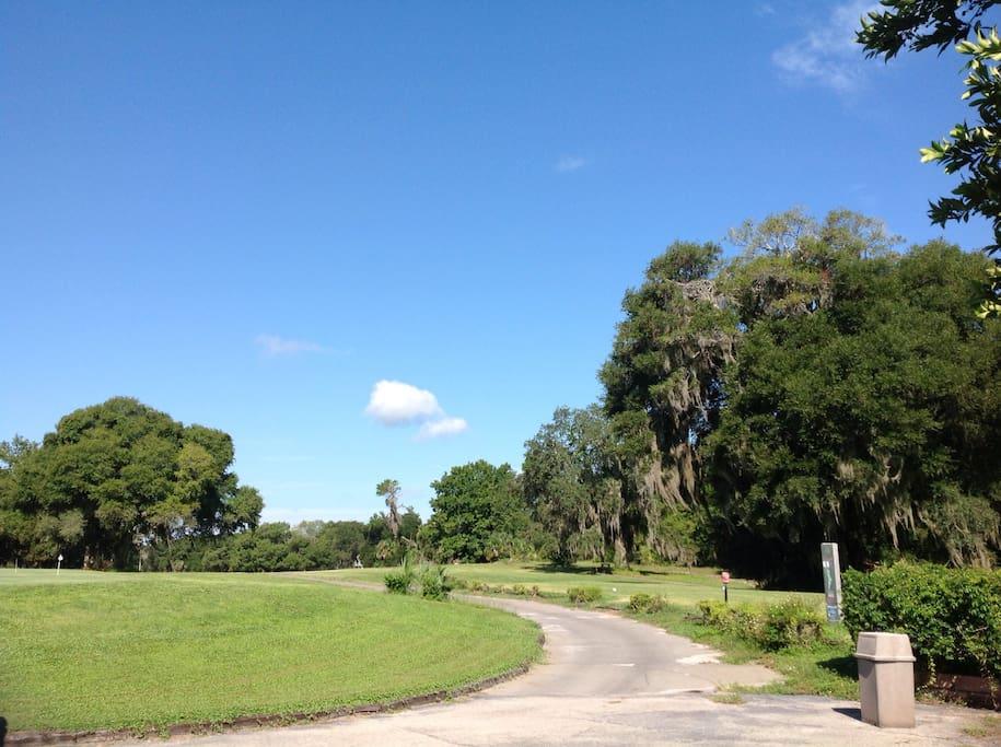Seasoned beautiful public Golf Course