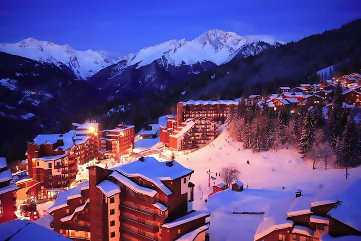 Stylish La Tania, Sleeps 2-5, WiFi - Saint-Bon-Tarentaise - Byt