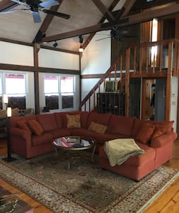 Post & Beam 10 min to Pat's Peak, sleeps 12 - 霍普金頓(Hopkinton) - 獨棟
