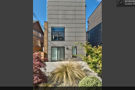 3br,modern,fireplace,chef kitchen. no car needed! - Seattle - Maison