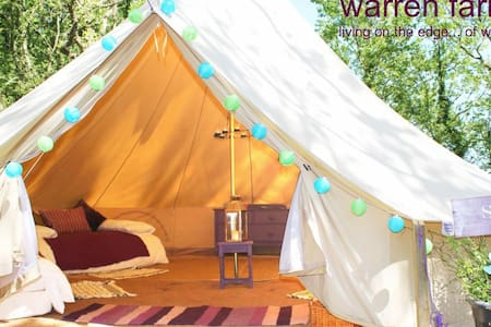 Sage, 6m bell tent on Pemb Path - Pembroke - Zelt