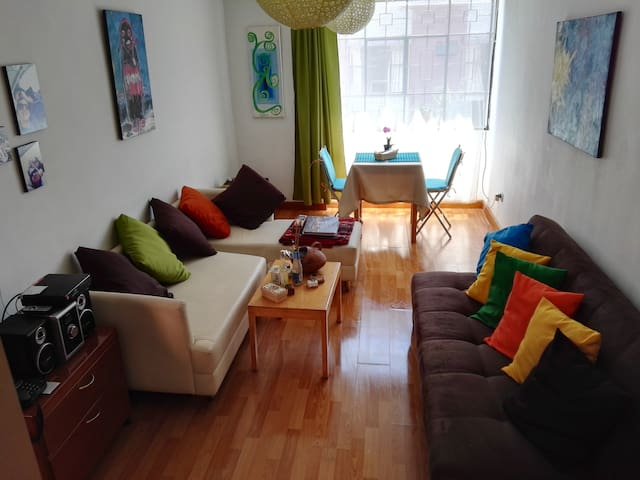 Cozy apartment in Cusco Peru.