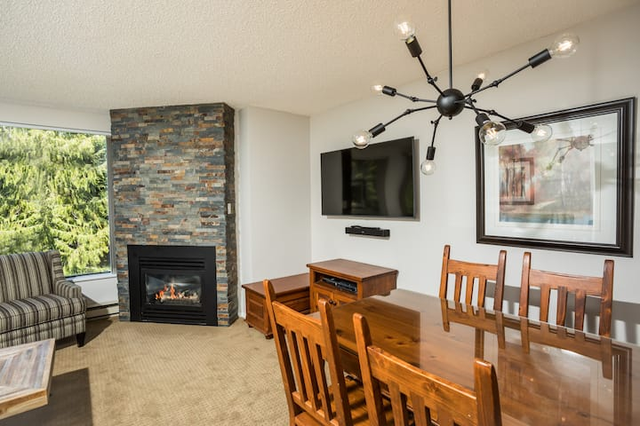 Comfy 1 BR condo in the Whistler Benchlands