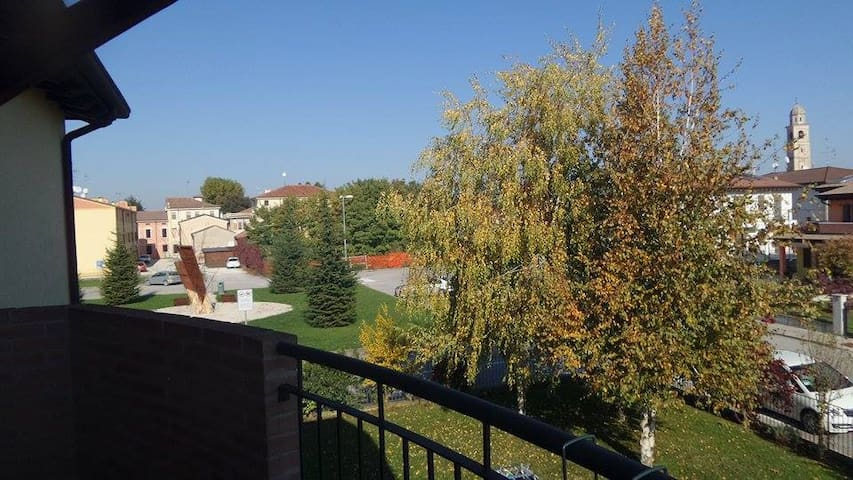 Countryside 3-bed flat near Mantua - Villimpenta - Leilighet