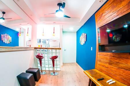 Apartamento Mobiliado e decorado!Campolim