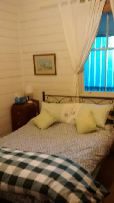 Second cosy bedroom has  double bed