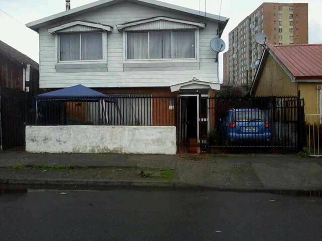 Casa compartida para 6-12 personas - Talcahuano - Huis