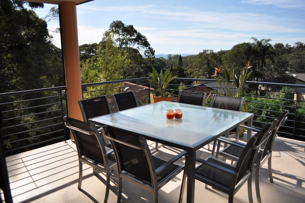 Large balcony - perfect for alfresco dining!