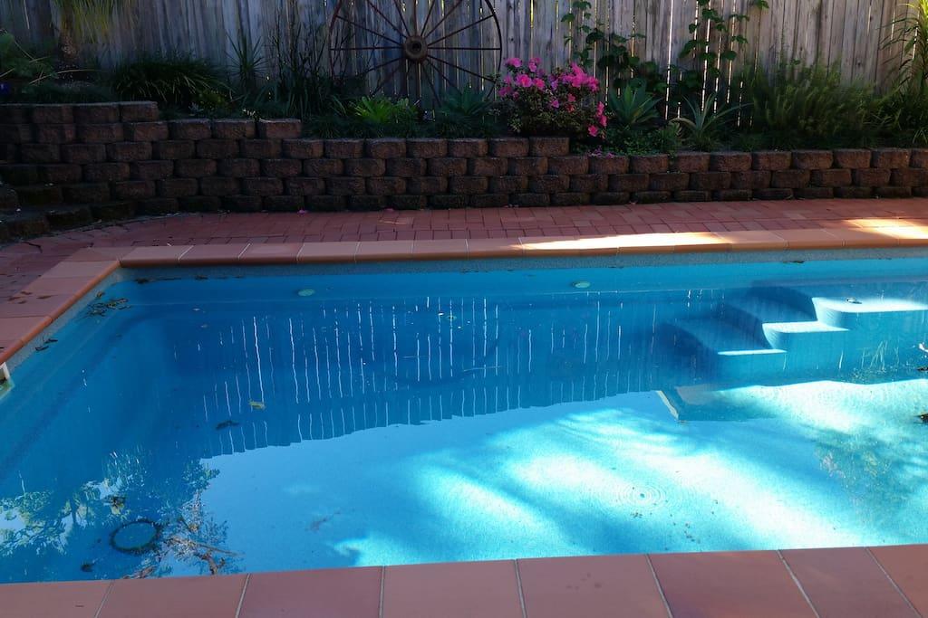 Shared Pool area, fenced