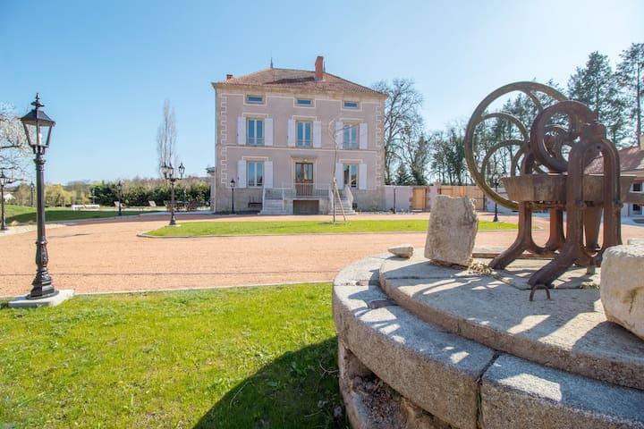 Gite de charme 5 épis  - Demeure de  La Molière
