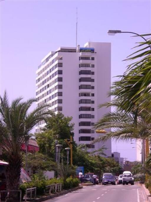 Edificio Margarita Plaza se encuentra al final del Santiago Marino