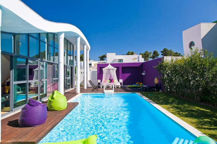 Villa with Pool & Spa in Golf Rsrt - Quinta do Anjo - Rumah
