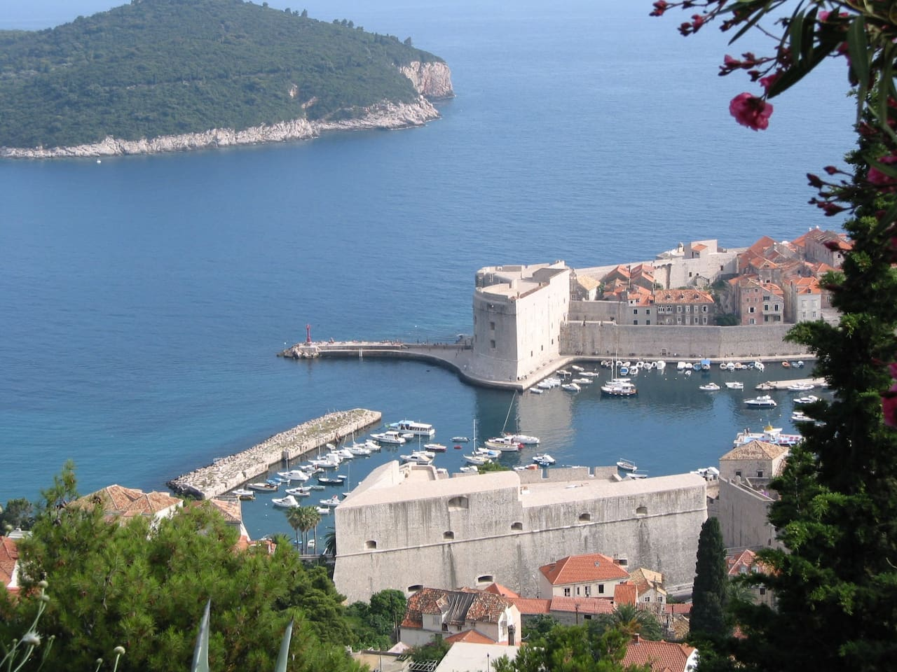 panorama view Old Town Dubrovnik