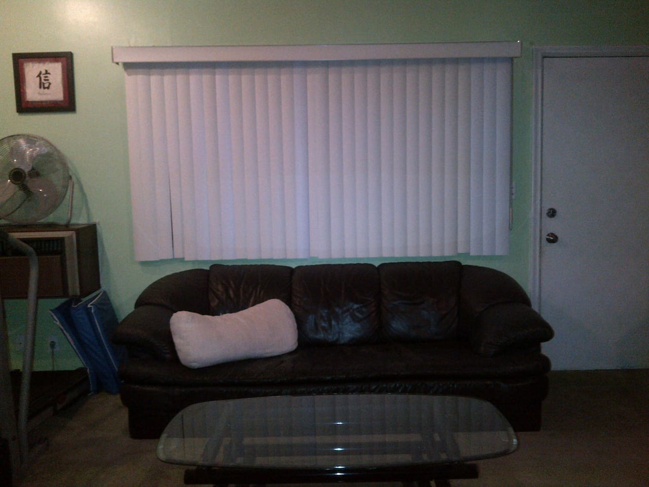 Comfy, Cozy Couch for you to Crash on. :)