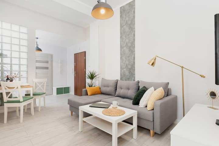 Modern Apartment in Poznan ☆ Pets allowed!