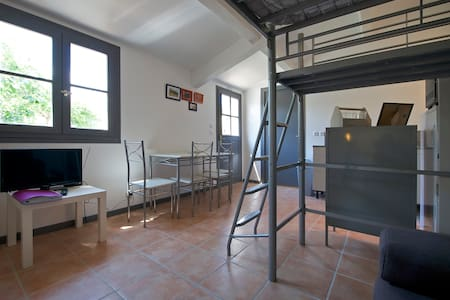 Studio 20m² piscine et bien etre - Blauzac - Wohnung