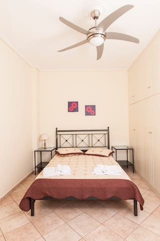 First bedroom with double bed