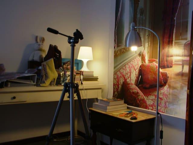 Soggiorno creativo da una designer - Vigodarzere - Villa