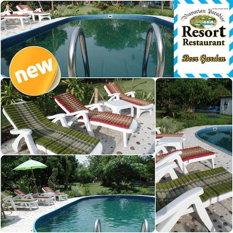 Bavarian Paradise Resort+Restaurant - Tambon San Phak Wan - House