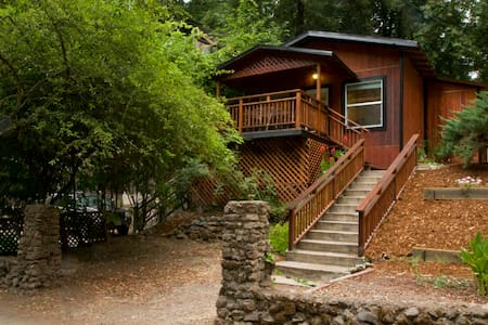 Russian River Bungalow at Rio Nido - Guerneville - Maison