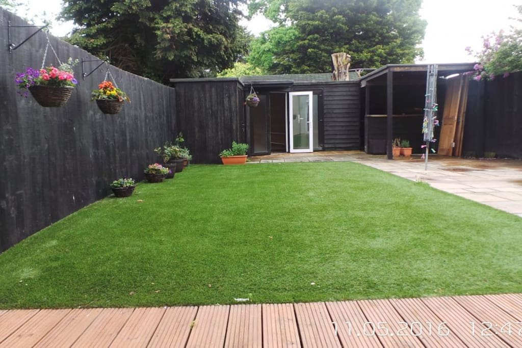 Garden & BBQ Shed