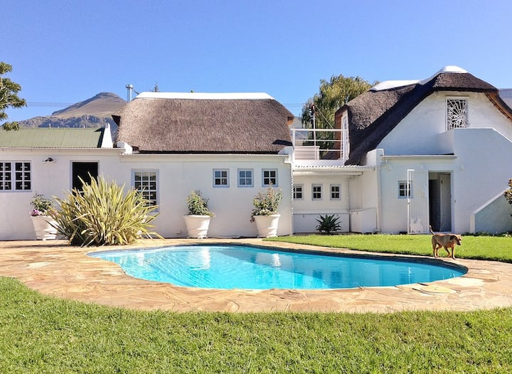 Greyton Small House Designerhome garden large pool