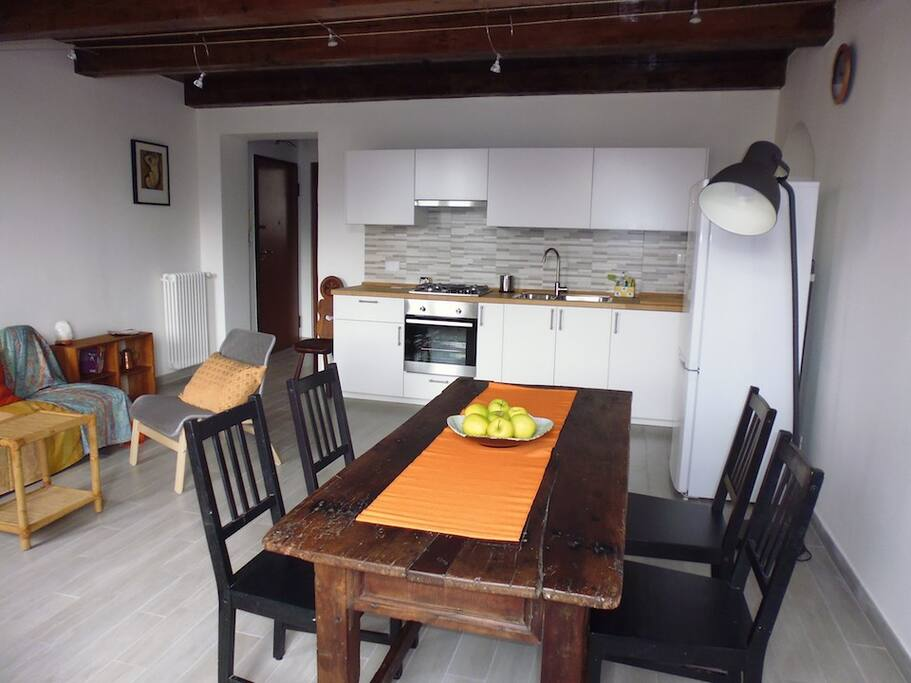 Cucina/fully equipped kitchen